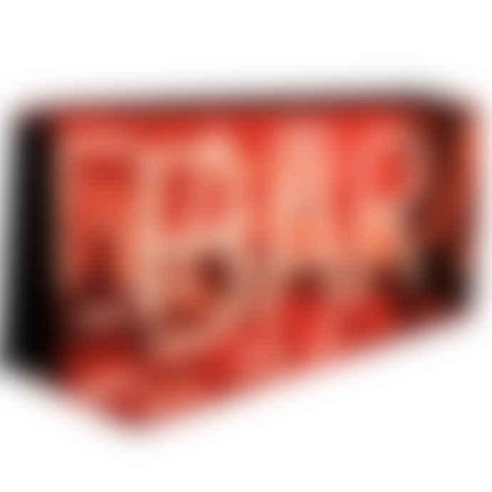 Locomocean 'Bar' Neon Red Acrylic Box