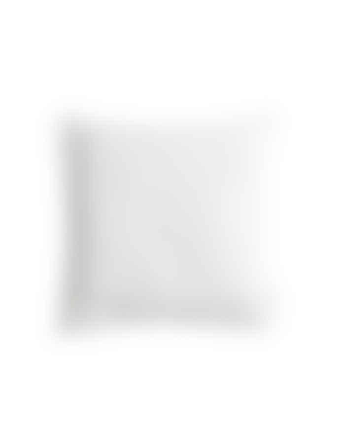 AB Småland 50 x 50cm Optical White Linen Cushion Cover