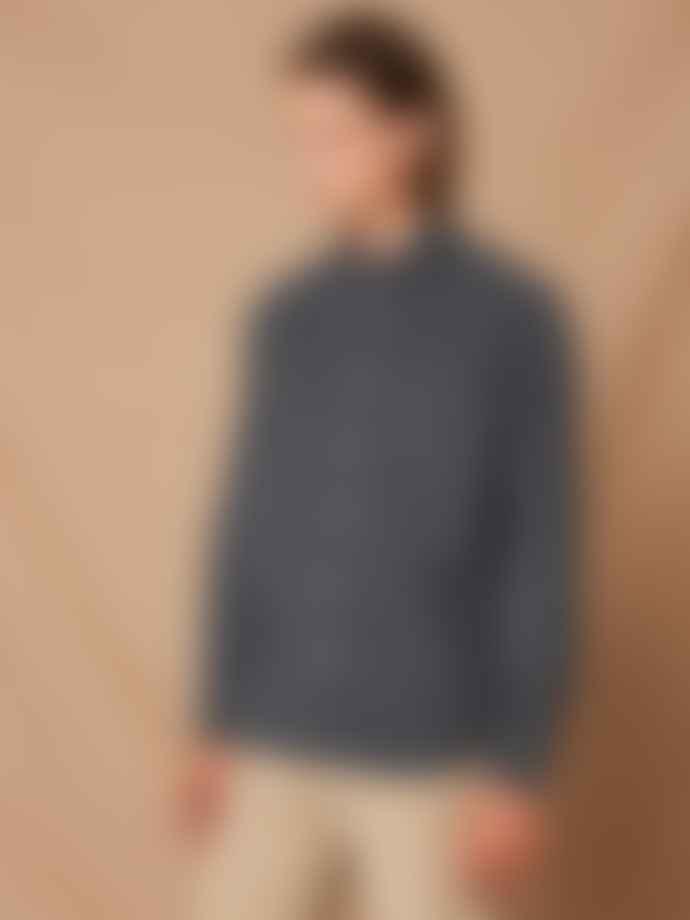 Hartford Graphite Paul Corduroy Shirt
