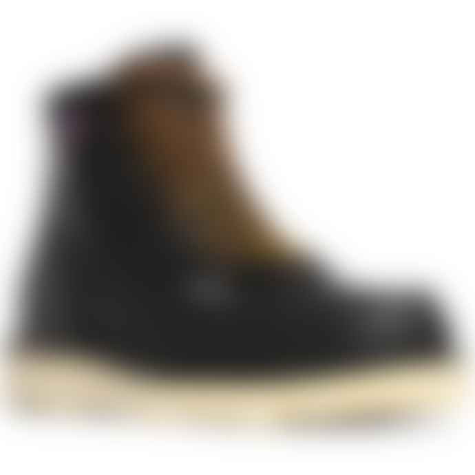 Danner Bull Run Moc Toe Black Boot