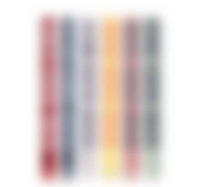 British Colour Standard Mixed Striped Candles