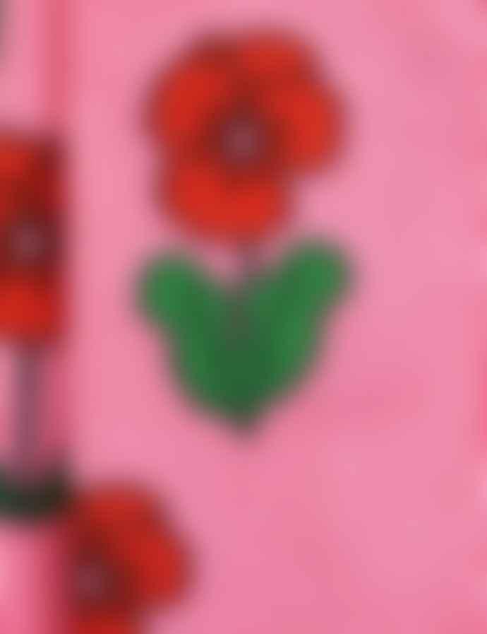 Mini Rodini Violas Tights/Pink