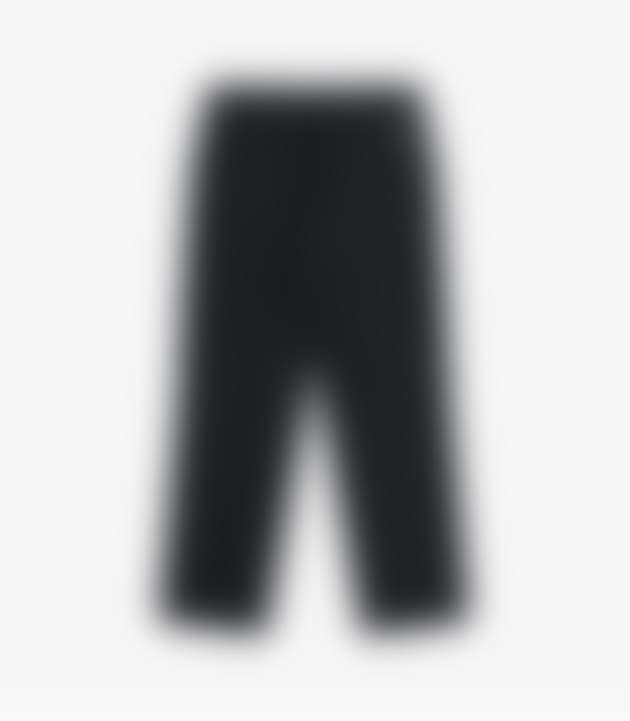 Knickerbocker Charcoal Flat Front Tapered Trouser - Wool