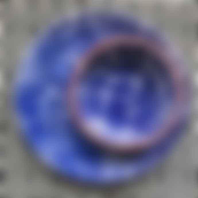 Casa Cubista Blue and White Sponged Bowl