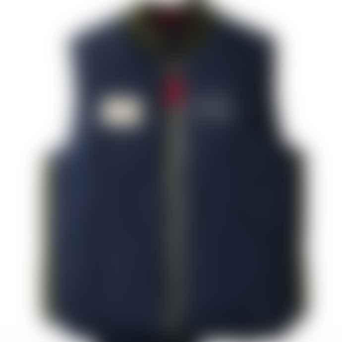 Nigel Cabourn X Element Fishing Down Vest Eclipse Navy
