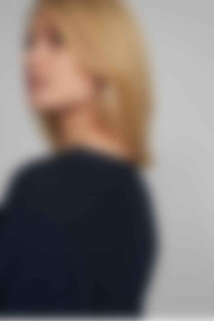 Numph Nuirmelin V-Neck Pullover Dark Sapphire