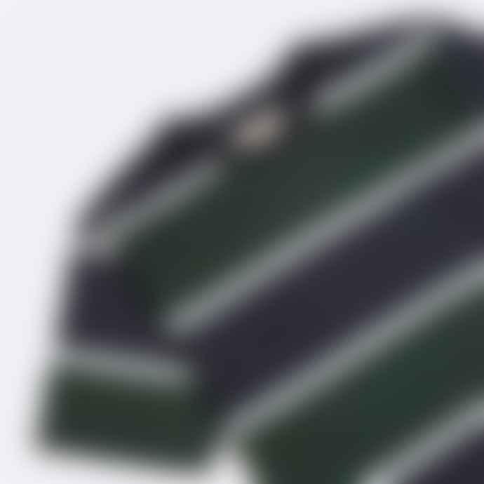 Far Afield Dos Stripe T Shirt Navy Green