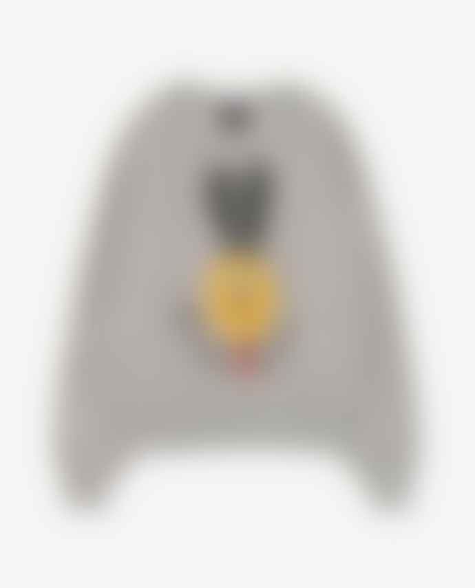 The Animals Observatory Grey Dog Sweater