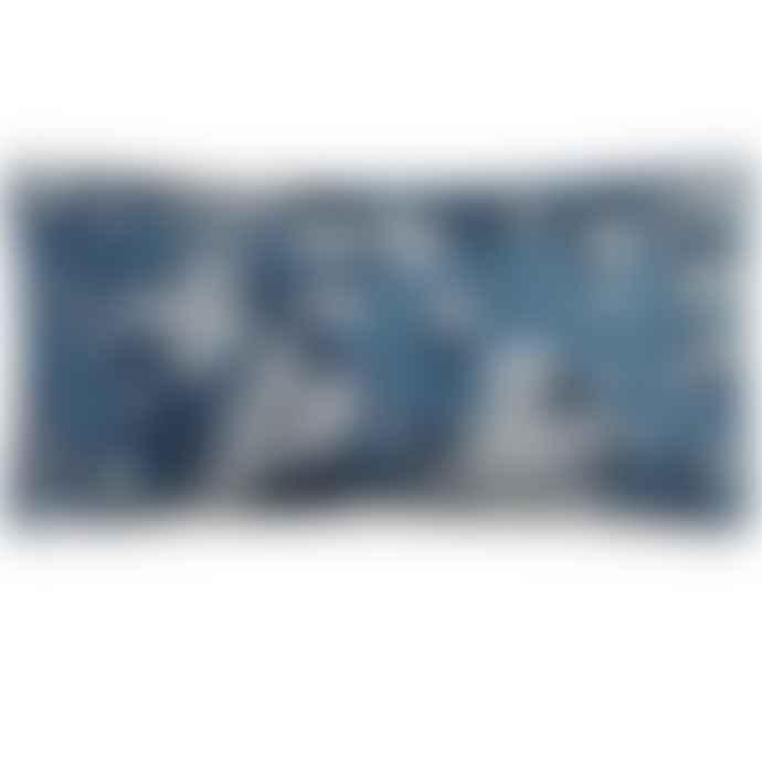 Christian Lacroix Lacroix Cherry! Bleu Denim Cushion