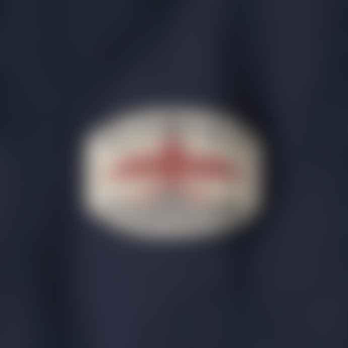 Nigel Cabourn X Element Totem Tee Shirt Eclipse Navy