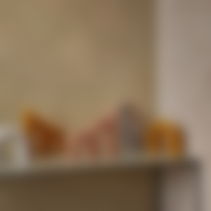 Broste Copenhagen Bend Candle Fungi