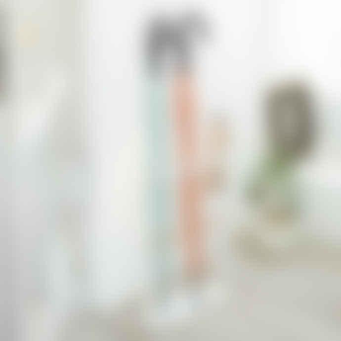 Yamazaki Tosca Tall Umbrella Stand In White With Drain Tray