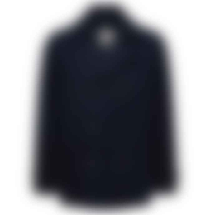 Selected Homme Navy Wool Peacoat Rich