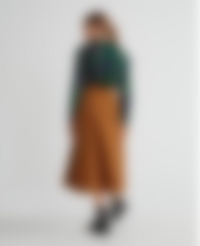 Thinking Mu Caramel Rati Skirt