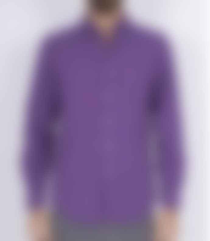 Portuguese Flannel Lobo Purple Corduroy Shirt