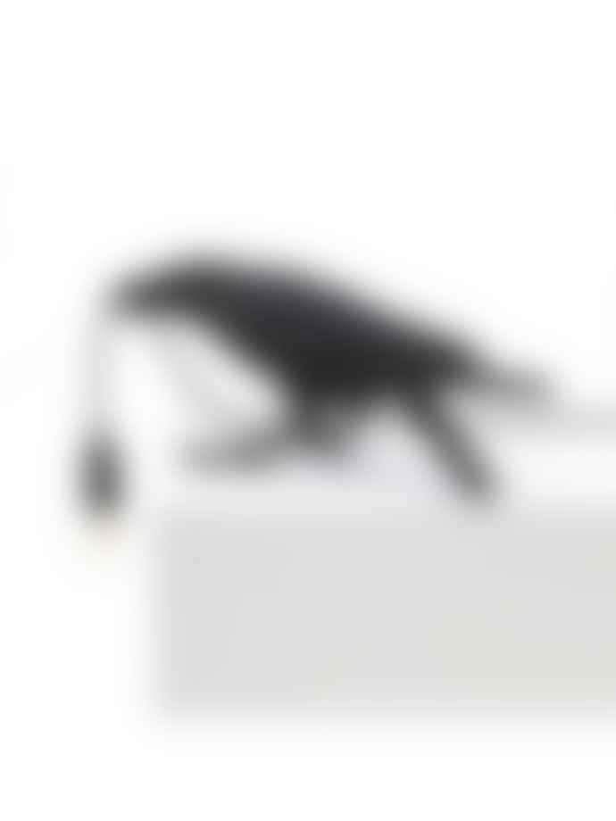 Seletti Black Playing Outdoor Bird Lamp
