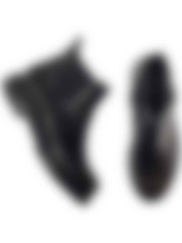 Hudson Moss Chelsea Boot In Black