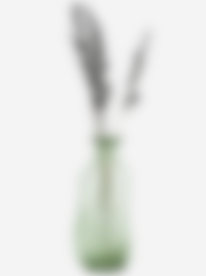 Madam Stoltz Green Organic Shaped Glass Vase
