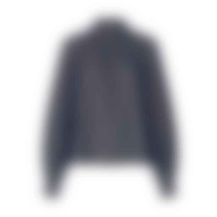 Stine Goya Eddy Top Black Grid Stretch