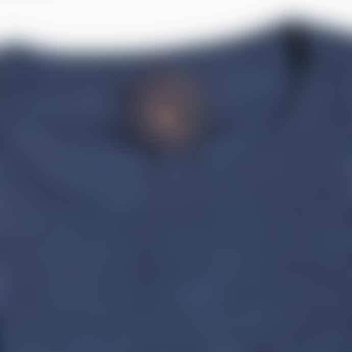 Blue de Genes Tondo Nuovo Pullover Merino Sailor Blue