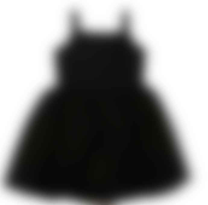 Bob and Blossom Classic Black Dress