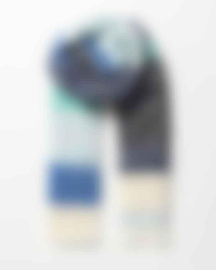 Becksondergaard Stripe Ingris Scarf Blue