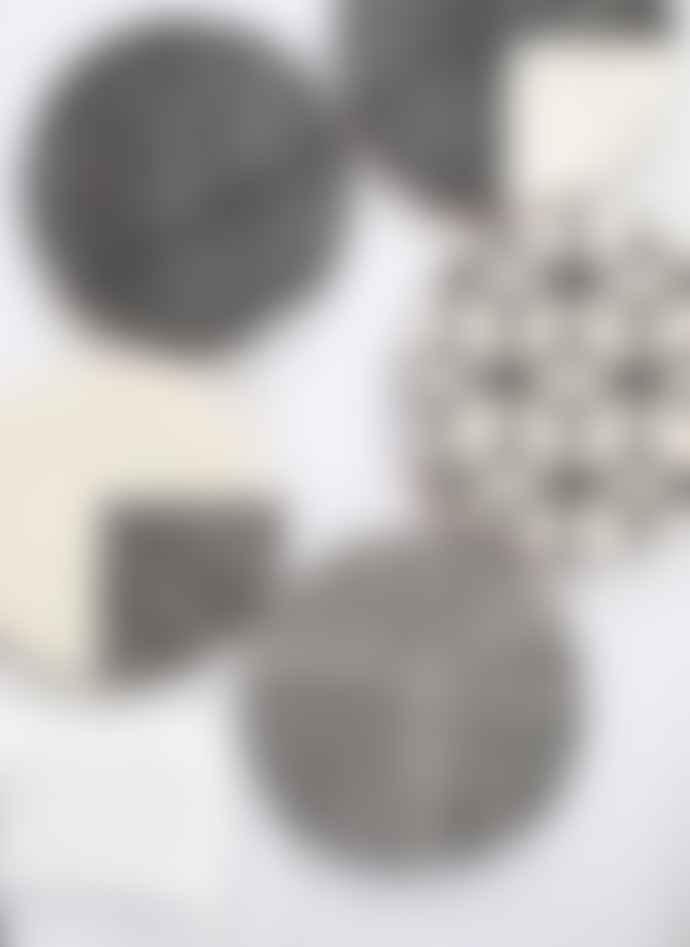 Casa Cubista Graphic XXL Plate Stripes 3/4
