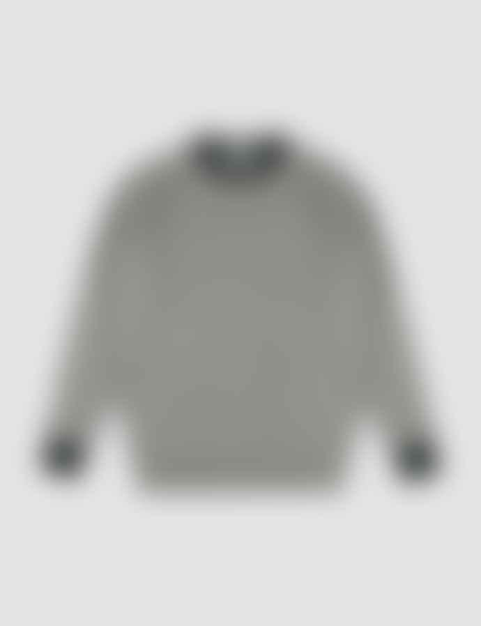 Castart Wagenfeld Contrast Neck Cuff Knitwear Middle Grey