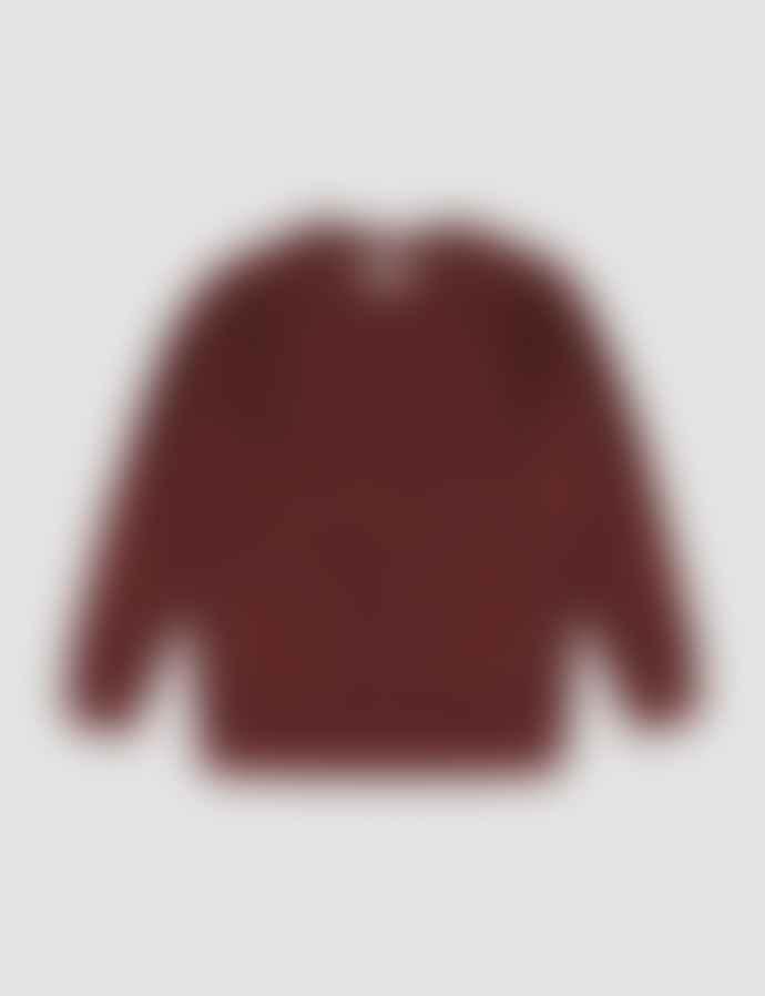 Castart Bill Teddy Sweater Burgundy
