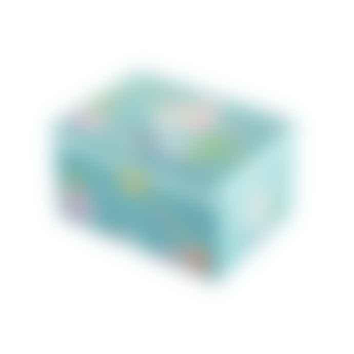 Trousselier Turquoise Blue Mermaid Figurine Musical Box