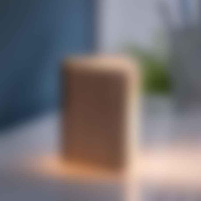 Gingko Mini Natural Wood Walnut Smart Book Light