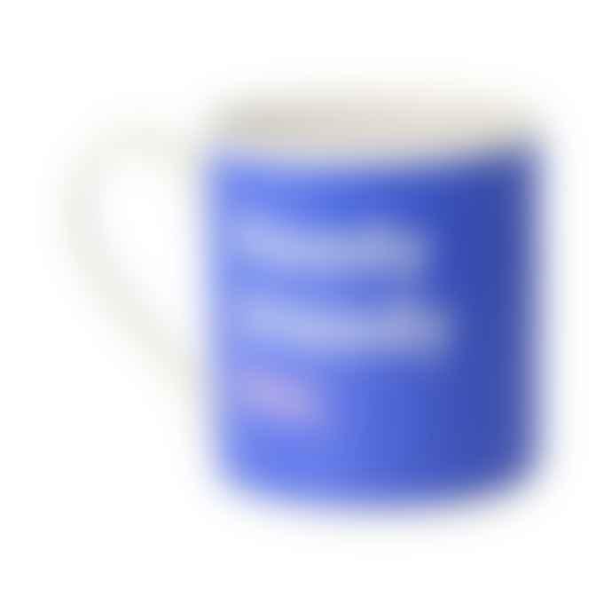 MS Mugs Blue Ready Steady No Mug