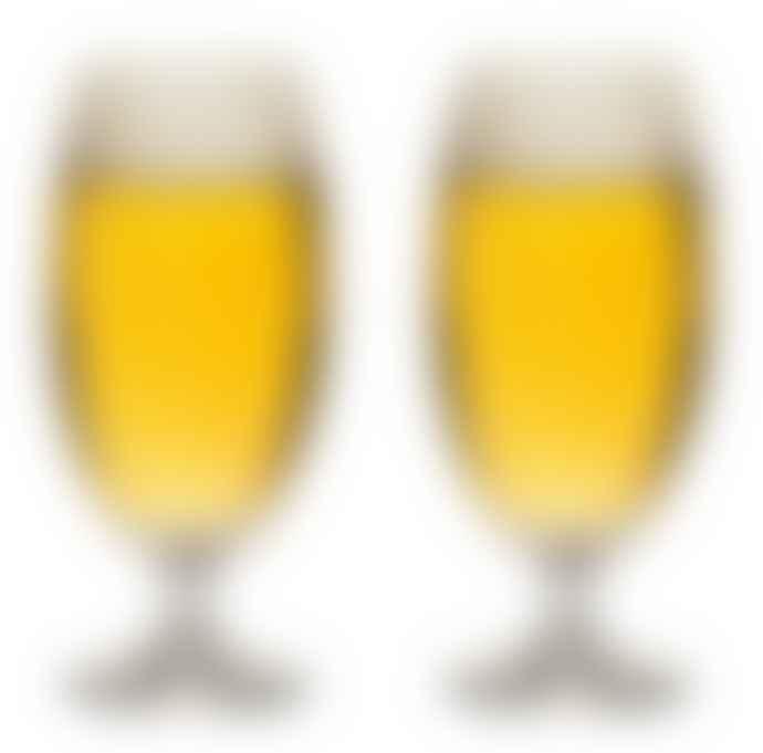 Sagaform Set of 2 Club Beer Glass