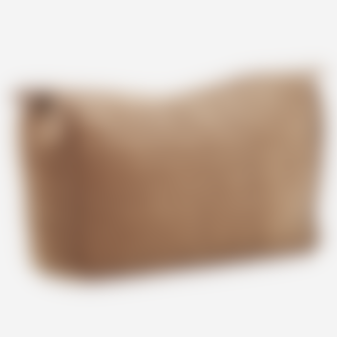 Madam Stoltz Quilted Velvet Toilet Bag