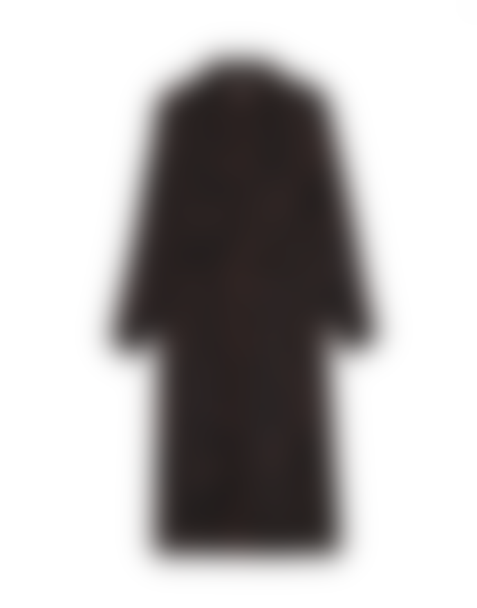 Grace & Mila Chocolate Long Sleeve Shirt Dress