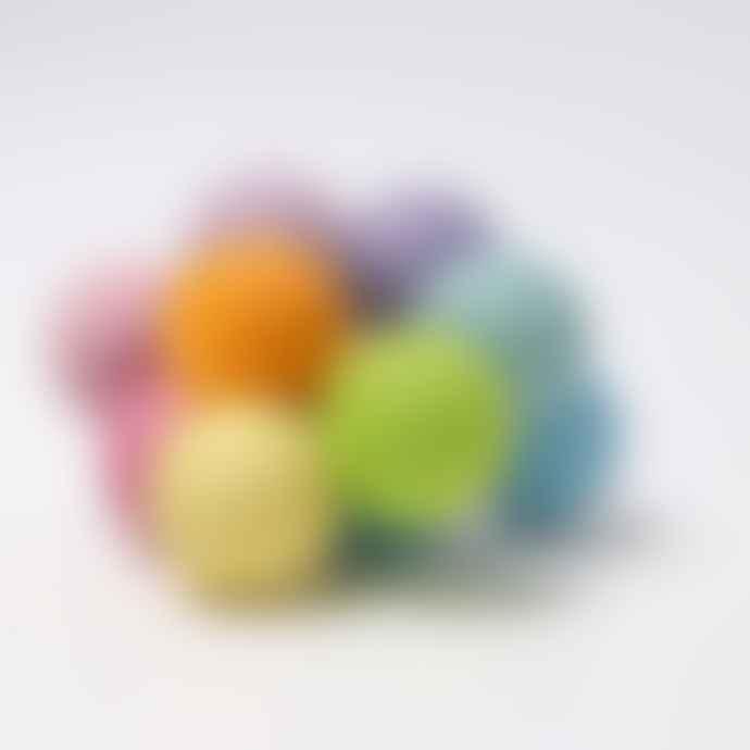 Grimms Multicolor Pastel Balls Rattle