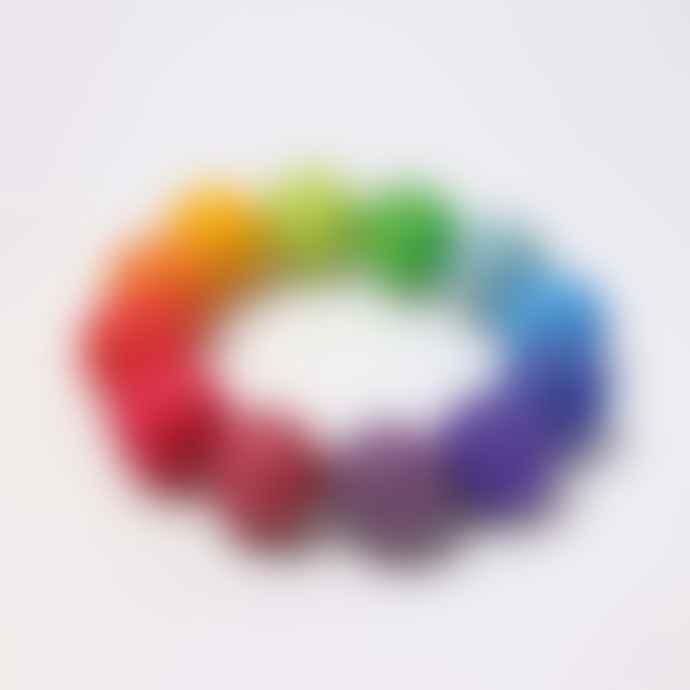 Grimms Rainbow Rattle Bracelet