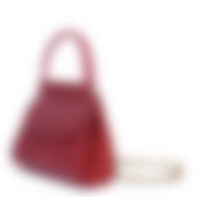 Nat & Nin Dany Cherry Leather Bag