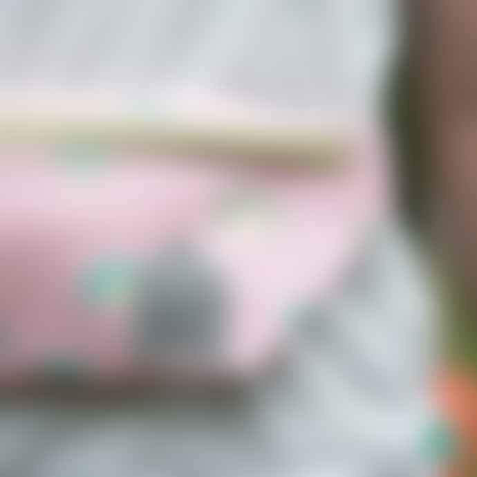 Petit Jour Fanny Pack for Kids Pink Rainbow School Kit Bag
