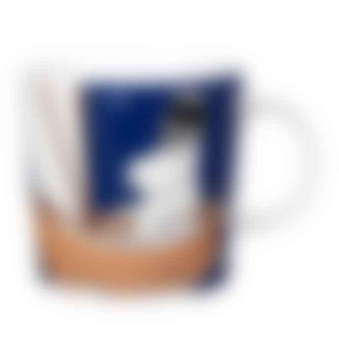 Arabia Moomin Moominpappa Mug Deep Blue