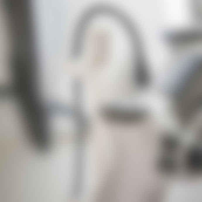 Yamazaki Smart Game Controller Swivel Storage Rack In White