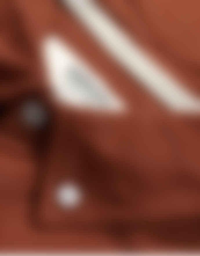 WEMOTO Auburn Melange Shaw Mel Button Down Shirt