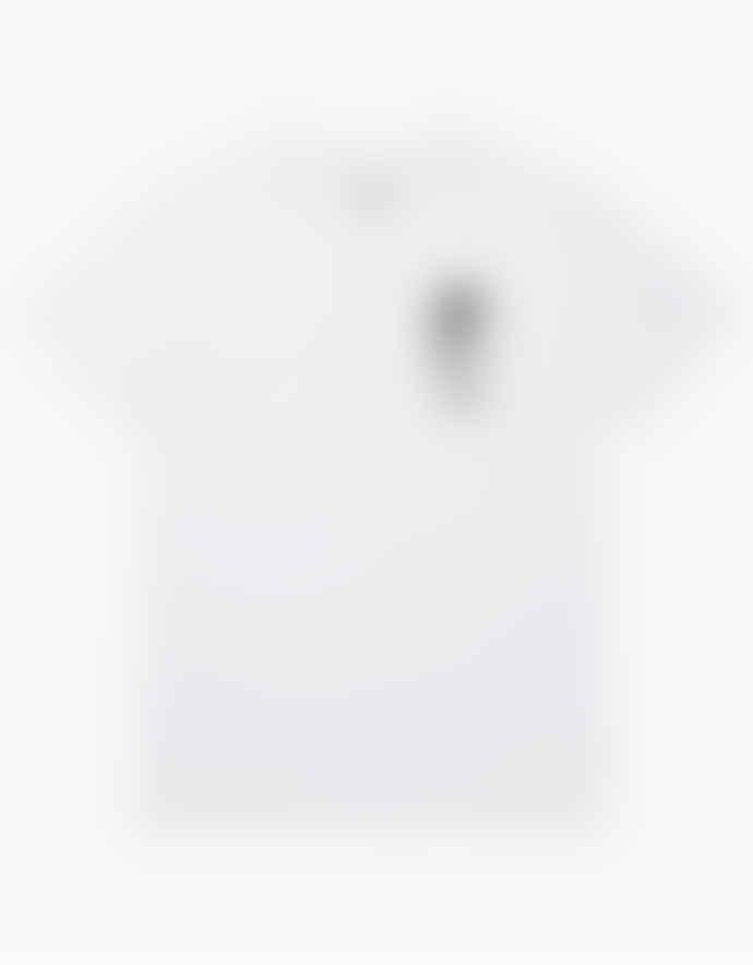 WEMOTO White Tip Tee Printed T Shirt