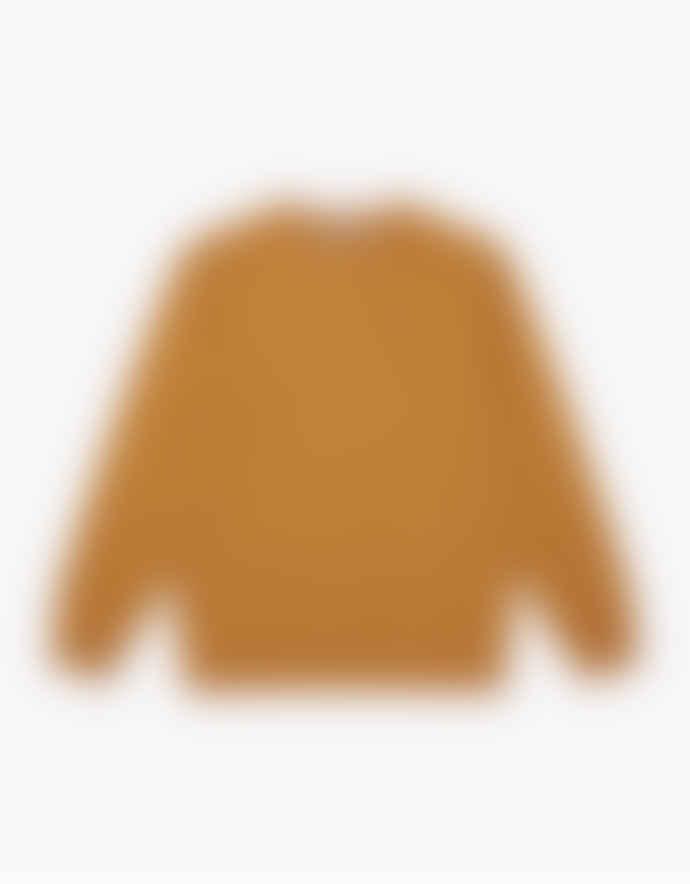 WEMOTO Mustard Clove Crewneck Sweatshirt