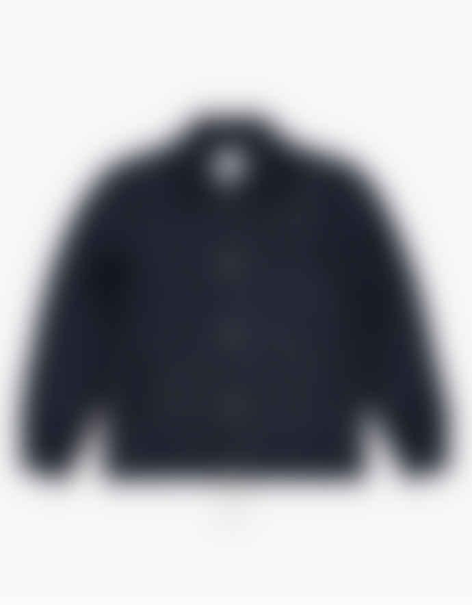 WEMOTO Navy Blue Galway Vegan Coach Jacket