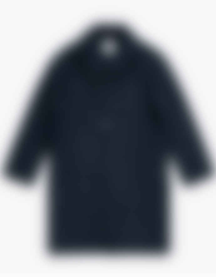 WEMOTO Navy Blue Seth Overcoat