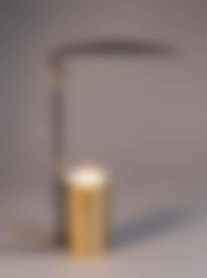 Dutchbone Brass Desk Lamp Julius