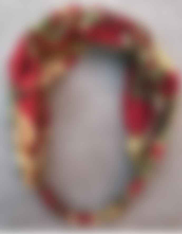 Lily King Japanese Tiger Headband - Red