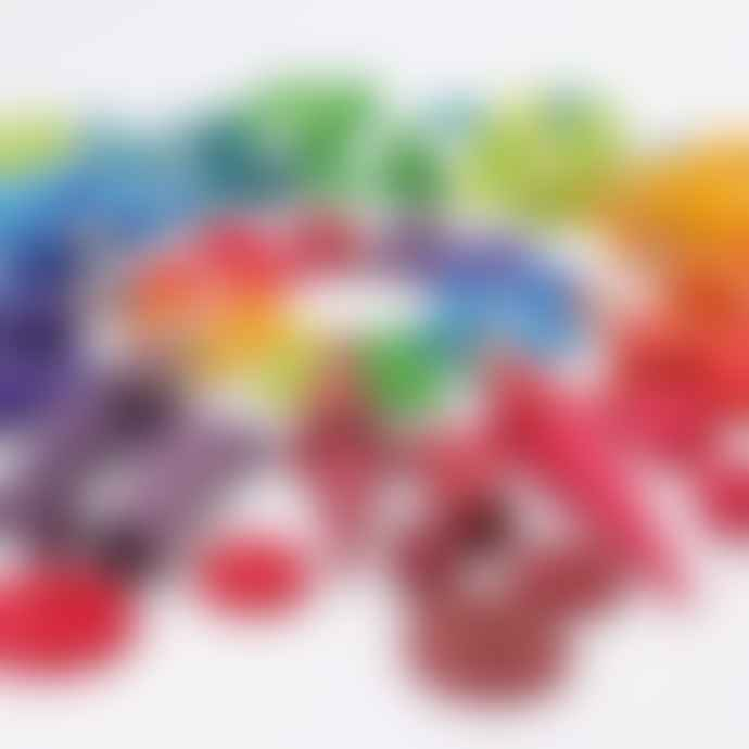 Grimms 24 Pieces Rainbow Coins