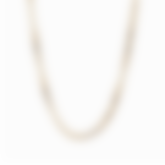 Nordic Muse Waterproof 18k Gold Chain Necklace NK - 0090